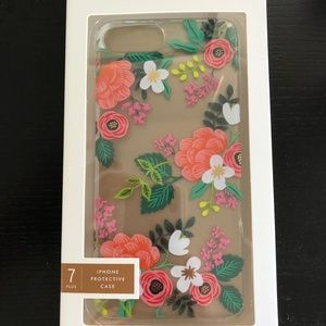 Rifle Paper Co - iPhone 6/7/8+ case in Clear Birch